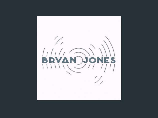 Branding design created for Bryan Jones by Dephined