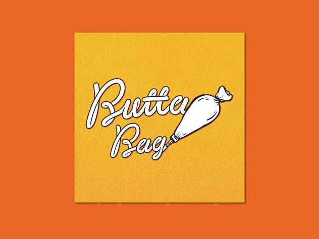 Butta Bag — DJ Collective logo design by dephined