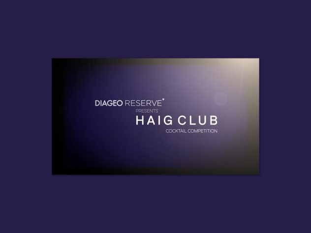 Haig Club Cocktail competition motion design by Dephined