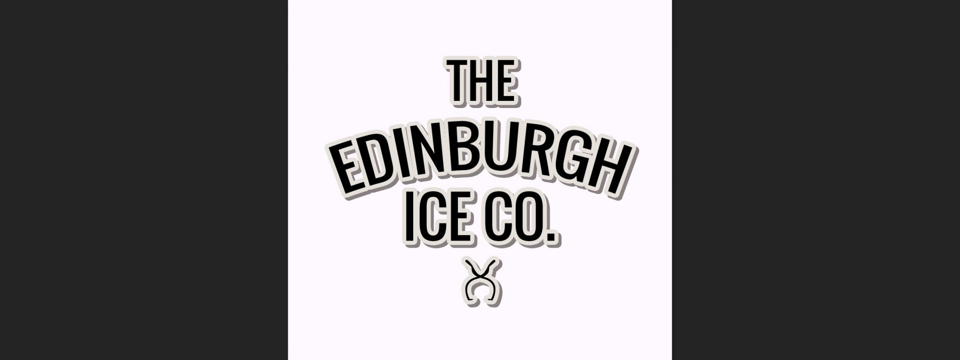 Branding design Created for the Edinburgh Ice Co.