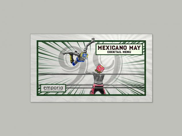 Emporia Brands - Mexicano May Cocktail Menu designed by Dephined